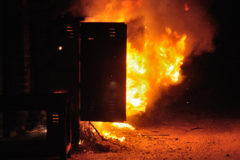 CESC_Transformer_Caught_Fire_-_GKW_Area_-_Andul_Road_-_Howrah_2016-03-28_2595