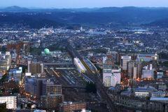 Fukushima_City_with_a_view_of_Fukushima_Station