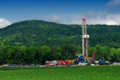 Marcellus-shale-gas-drilling-site